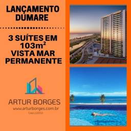Dumare-Oportunidade de apartamento vista mar em 103 m², 2 vagas