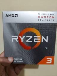 Processador Ryzen 3 3200G com GPU Radeon Vega 8 Integrada