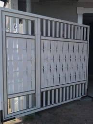 Portão de garagem partir de R$450 reais o metro quadrado