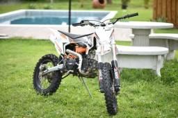 Mini Moto MXF 125cc Laranja