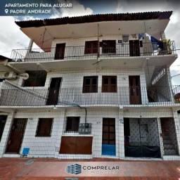 Apartamento com 3 dormitórios para alugar, 60 m² por R$ 650,00/mês - Padre Andrade - Forta
