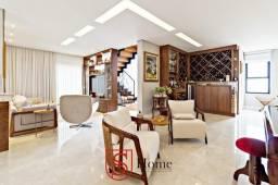 Casa alto padrão com 3 quartos e 3 vagas no Capão Raso em Curitiba