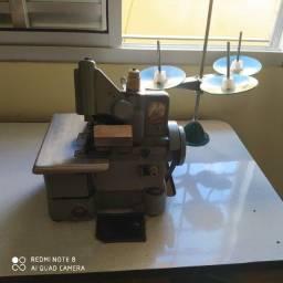 Máquina De Costura Overlock Chinesinha Semi-industrial Portátil C/ Bancada,