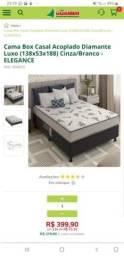 Vendo cama box nova