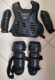 Kit proteção motocross ASW