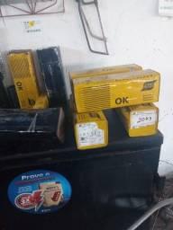Título do anúncio: eletrodos soldas Esab OK serralheiro 2,5 6010 e Bouler 2,5  6010