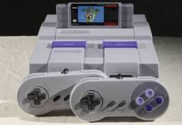 Super Nintendo completo com 1 jogo a escolha