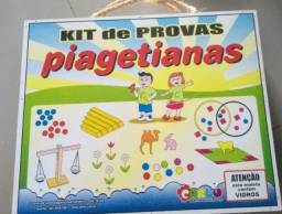 Caixa piagetiana ( provas operatórias )  300,00 reais