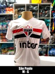 Camisa de time Premio 100% Poliéster