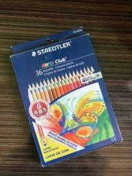 Lápis de Cor Staedtler 36 cores Novo