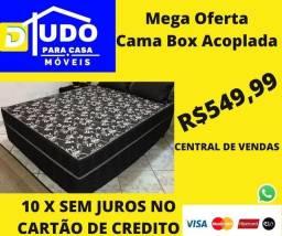 Promoção Cama Box Casal Acoplada
