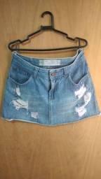 Mini Saias Jeans