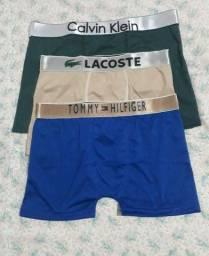 Lote de cuecas boxer variadas