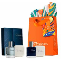 Presente Masculino Homem Essence E Tradicional Perfumes 25ml