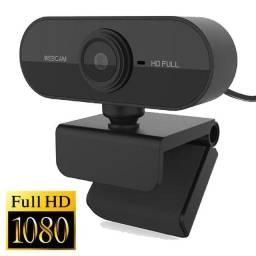 Webcam Full Hd 1080p Foco Automatico Com Microfone