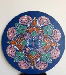 Título do anúncio: Mandala Transformação. 30cm, 3mm de espessura.
