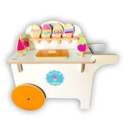 Carrinho de sorvete - Top Toy?