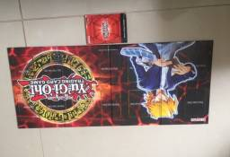 Cartas Yu-Gi-Oh - Konami + Tabuleiro com manual