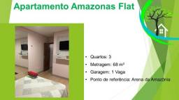 Título do anúncio: apartamento amazonas flat - R$ 235 mil, prox arena da amazônia