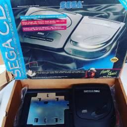 Vendo/troco Sega CD edição sewer shark novíssimo na caixa completo