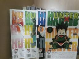 Hunter x Hunter Volumes 1,2,3 e 4 (Nova Edição)