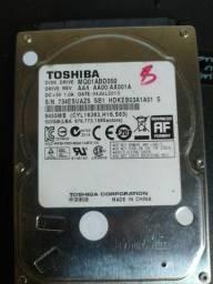 Hd  500 gb para hd externo e notebook e computador de mesa