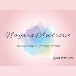 Decoração de festas e eventos R$350