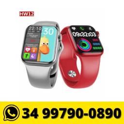 Relógio Smartwatch HW12 Série 6 Tela Infinita
