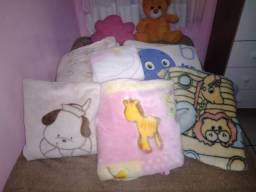 Corbertores, manta e  edredom Bebê menina