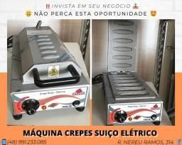 Máquina de Crepes Suíço - Progas | Matheus