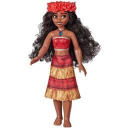 Moana Musical Boneca Princesa Disney - Emite Sons e Luzes
