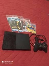 Título do anúncio: Playstation 2 destravado