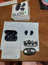 Fone sem fio Bluetooth Samsung galaxy buds +