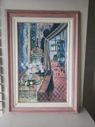 Pôster Importado e Emoldura do Pintor Francês Henri Matisse
