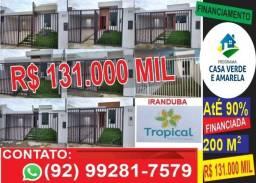 Casas => ótimo terreno - 200 m2 Iranduba - financiamos pela caixa <= vendo