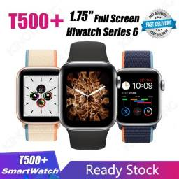 Relogio Smartwatch Iwo13 T500 Plus 1.75 Tela infinita 44mm Serie