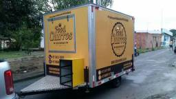 Food truck trailer lanche