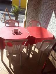 Vendo mesas com 4 cadeiras cada mess com 4 cadeiras