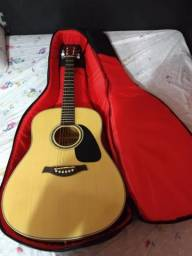 Violão Tagima Woodstock 25 c/ capa bag acolchoado