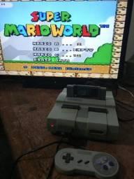 Super Nintendo + Mario World