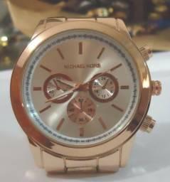 b510c02aab8 Relógio Rosê M K   Mryes   Fewmenies Série Ouro Rosê Pulseira Série Ouro  Rosê