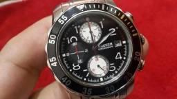 31fbe75fa1d Relógio Magnum Diver Scuba Aço Mostredor Preto Cronógrafo