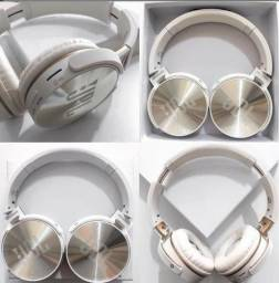 Entrega grátis!! Fone de ouvido Bluetooth novo com garantia Branco ou preto