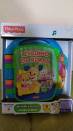 Livrinho de Rimas - Fisher Price