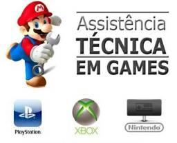 Assistência Técnica em Vídeo Games