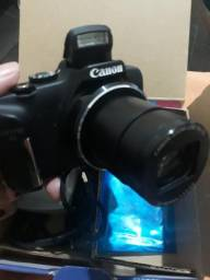 Câmera canon sx170 is