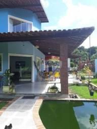 Casa em aldeia, condomínio km 14, 5 quartos.