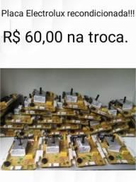 Placas lavadoras Electrolux recondicionadas R$ 60,00 na troca