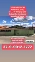 ÓTIMA OPORTUNIDADE.Vende-se Casa no Bairro São José