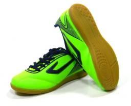 Tenis Futsal Topper CUP verde infantil tam: 28 ao 36